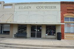 Courier Building in Elgin TX