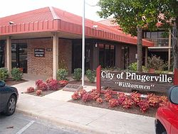 Pflugerville Texas City Hall