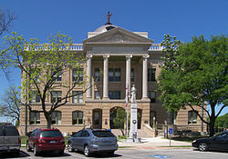 Williamson County Courthouse in Georgetown TX