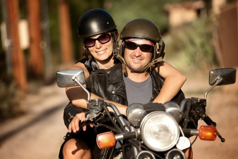 Man-And-Woman-On-Motorcycle